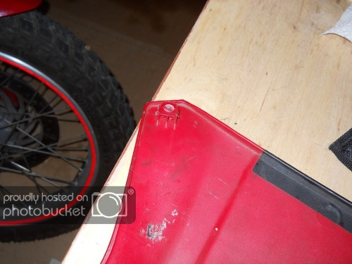 Fixing a Broken Plastic Tab | Two Wheeled Texans