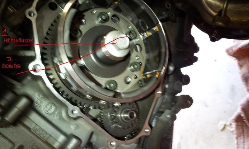 Starter spins, engine doesn't turn over    | Two Wheeled Texans
