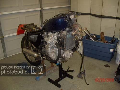 Honda cx500 DualSport Conversion: | Two Wheeled Texans