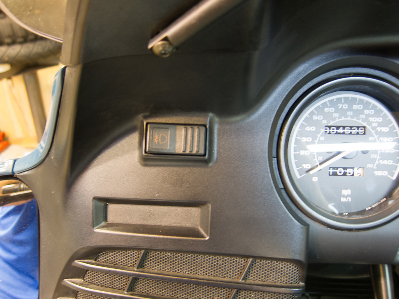 r1150rt headlight/fog light guidance (factory)