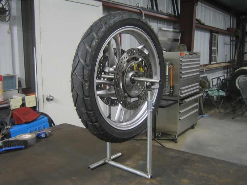 Wheel Balancer... | Two Wheeled Texans