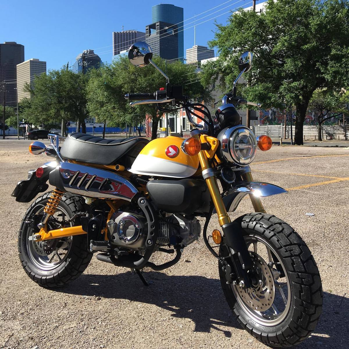 Houston 2019 Honda Monkey 125 Two Wheeled Texans